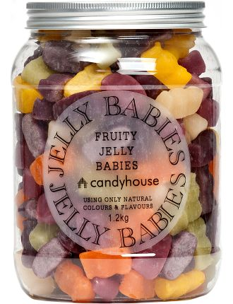 Fruity Jelly Babies Jar 1.2KG