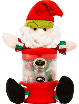 Santa Lolly Jar 200g