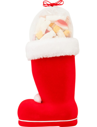 Santa Stocking with Lollies 200g