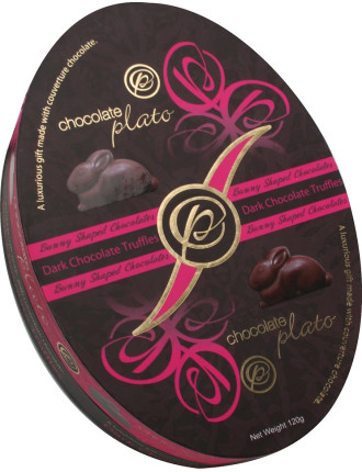 Easter Oval Box - Magenta 100G