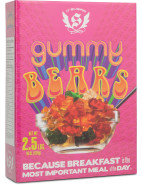 It'S Sugar Giant Gummy Bears Cereal Box 1.25kg $64.95