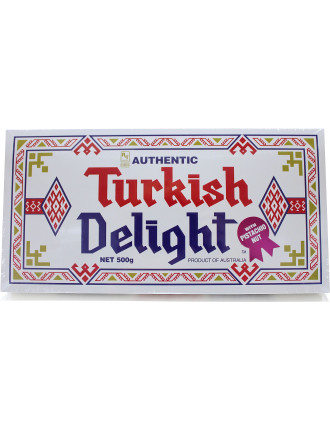 Turkish Delight with Pistachio Nut 500g