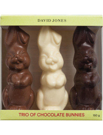 DAVID JONES FOOD TRIO BUNNY BOX 150G