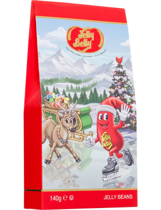 Jelly Belly American Xmas Assorted Flavours Gable Box 140g