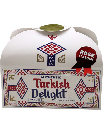 Turkish Delight Rose Flavour 250g
