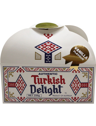 Turkish Delight Vanilla Flavour 250g