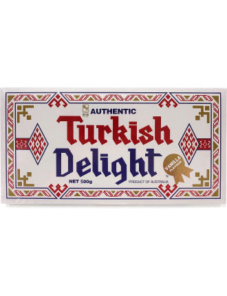 Turkish Delight Vanilla Flavour 500g