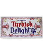 Turkish Delight Rose Flavour with Almonds 500g $19.95
