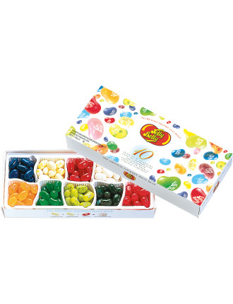 10  Individual Flavours Jelly Beans gift box 125g
