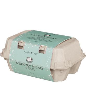 David Jones Rocky Road Eggs In Carton 165g
