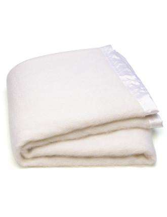 Mohair Blanket Single