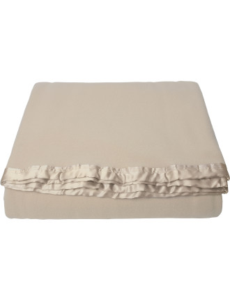 Merino Wool Queen Bed Blanket