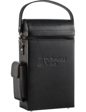 Estate Chardonnay & Syrah Gift Pack with Leather Carrier Bag