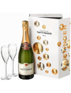 Non-Vintage Brut Gift Pack with Two Flutes $105.00