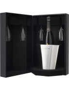 La Grande Année Brut 2004 Gift Pack with Flutes & Ice Bucket $299.95