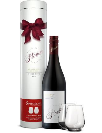 Stonier Pinot Noir Gift Tube W/ Glasses