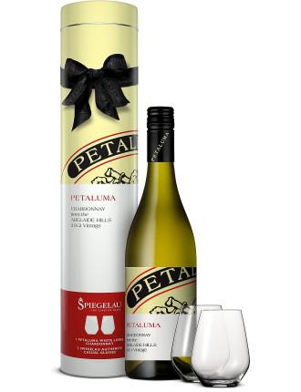 Petaluma Chardonnay - Spiegelau Gift Tube