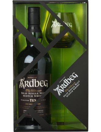 Ardbeg 10 Years Old with Glass Pack
