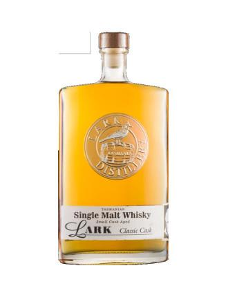 Lark Single Malt Whisky Classic Cask 43% ABV