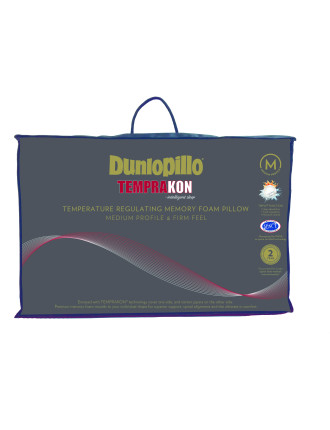 Dunlopillo Temprakon Intelligent Sleep Memory Foam Pillow