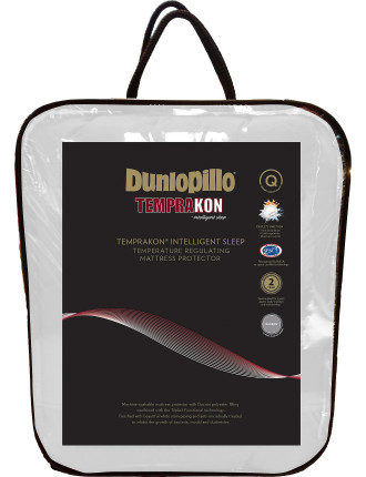 Dunlopillo Temprakon Regulating Mattress Protector Queen
