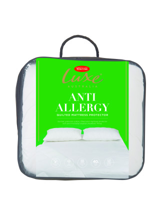 Luxe Anti Allergy Mattress Protector Double