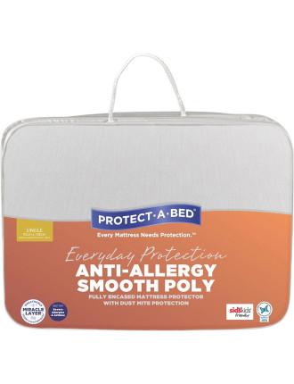 Anti-Allergy Fully Encased Mattress Protector Single