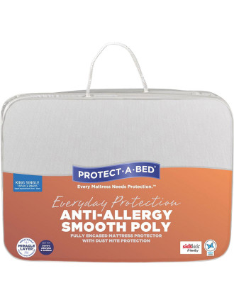 Anti-Allergy Fully Encased Mattress Protector King Single