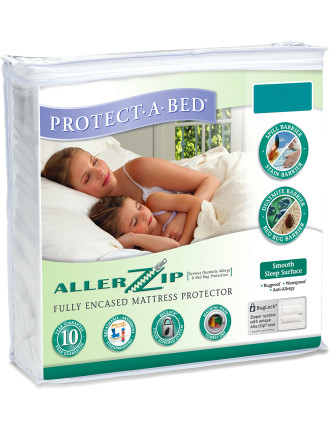 Allerzip King Single Bed Mattress Protector