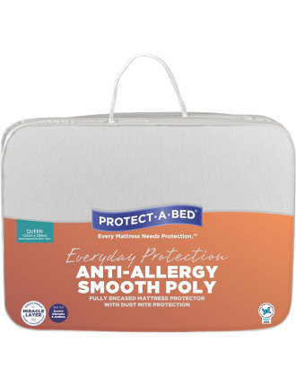 Anti-Allergy Fully Encased Mattress Protector Queen