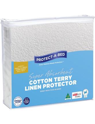 Cotton Terry Linen Protector