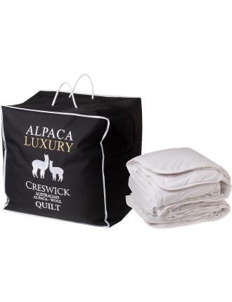 Alpaca Queen Bed Quilt