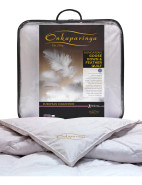 European Collection Goose Feather & Down Queen Bed Quilt $499.99