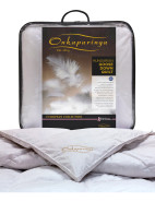 European Collection Goose Down Queen Bed Quilt $599.99