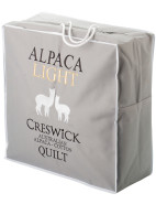 Light Alpaca King Bed Quilt $459.95