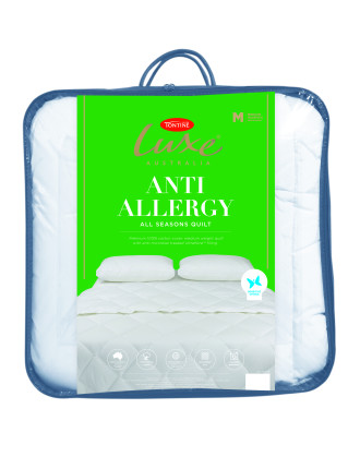 Allergy Sensitive King Bed Quilt