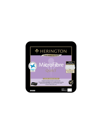 Microfibre Low Allergy Quilt Single