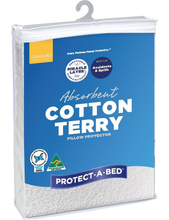 Cotton Terry Pillow Protector