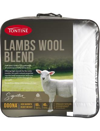 Lambswool Blend Doona Quilt Double