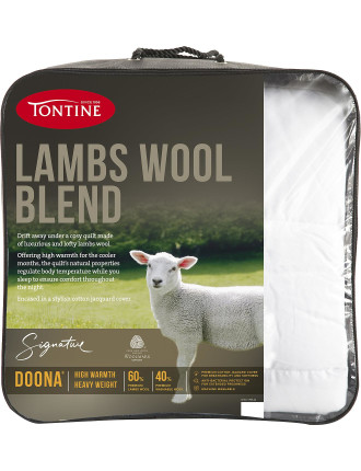 Lambswool Blend Doona Quilt Queen