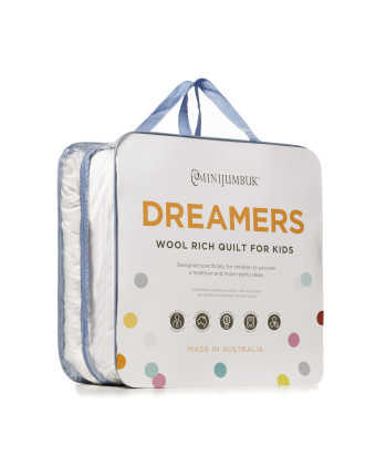 Dreamers Kids Wool Quilt - Single