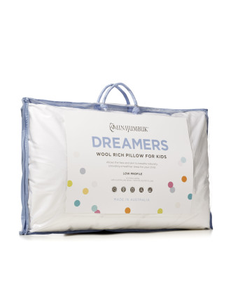 Dreamers Kids Low Profile Pillow