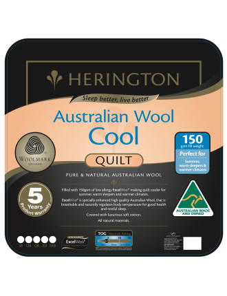 Cool Wool Quilt Queen