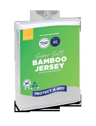 Bamboo Jersey Pillow Protector