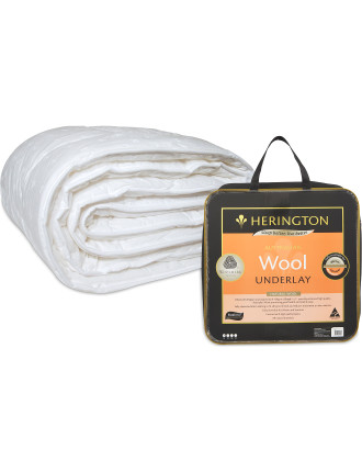 Herington Wool Quilt  Queen