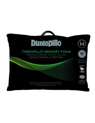 Therapillo Medium Memory Foam Pillow