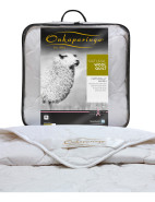 Natural Wool Single Bed Quilt $169.95