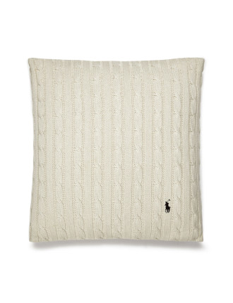 Cable Cream Cushion 45x45