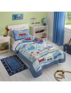 Trains Kids Sb Coverlet $249.95