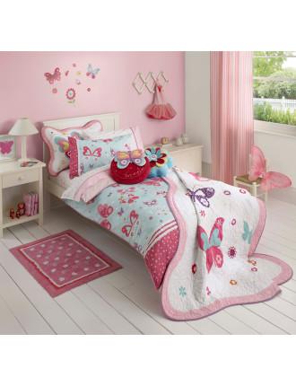 Flutterby Single Bed Quilt Cover Set